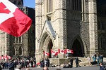 We waited about 30 minutes for Ms. Jean to arrive.  I kicked myself for having left my telephoto lens in the hotel room - thinking that I would not need it at the Canadian War Museum.  Non ...